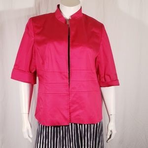 Anne Klein Fuschia Stretch Blazer size 18w